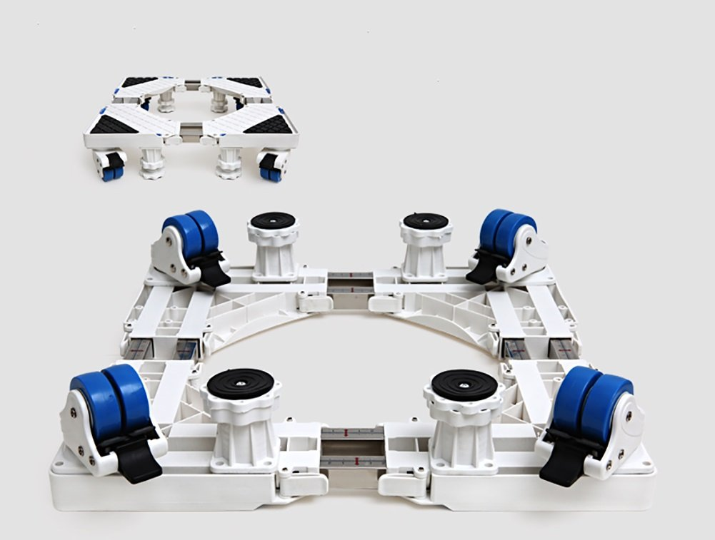 調節可能な洗濯機ペデスタル冷蔵庫ベース可動式ラック(ブレーキあり) ( サイズ さいず : 4 legs ) 4 legs  B078WRVLQS