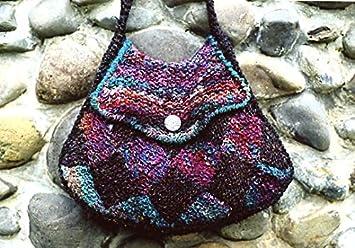 Entrelac bolso en dos tamaños - avena Couture patrón para ...