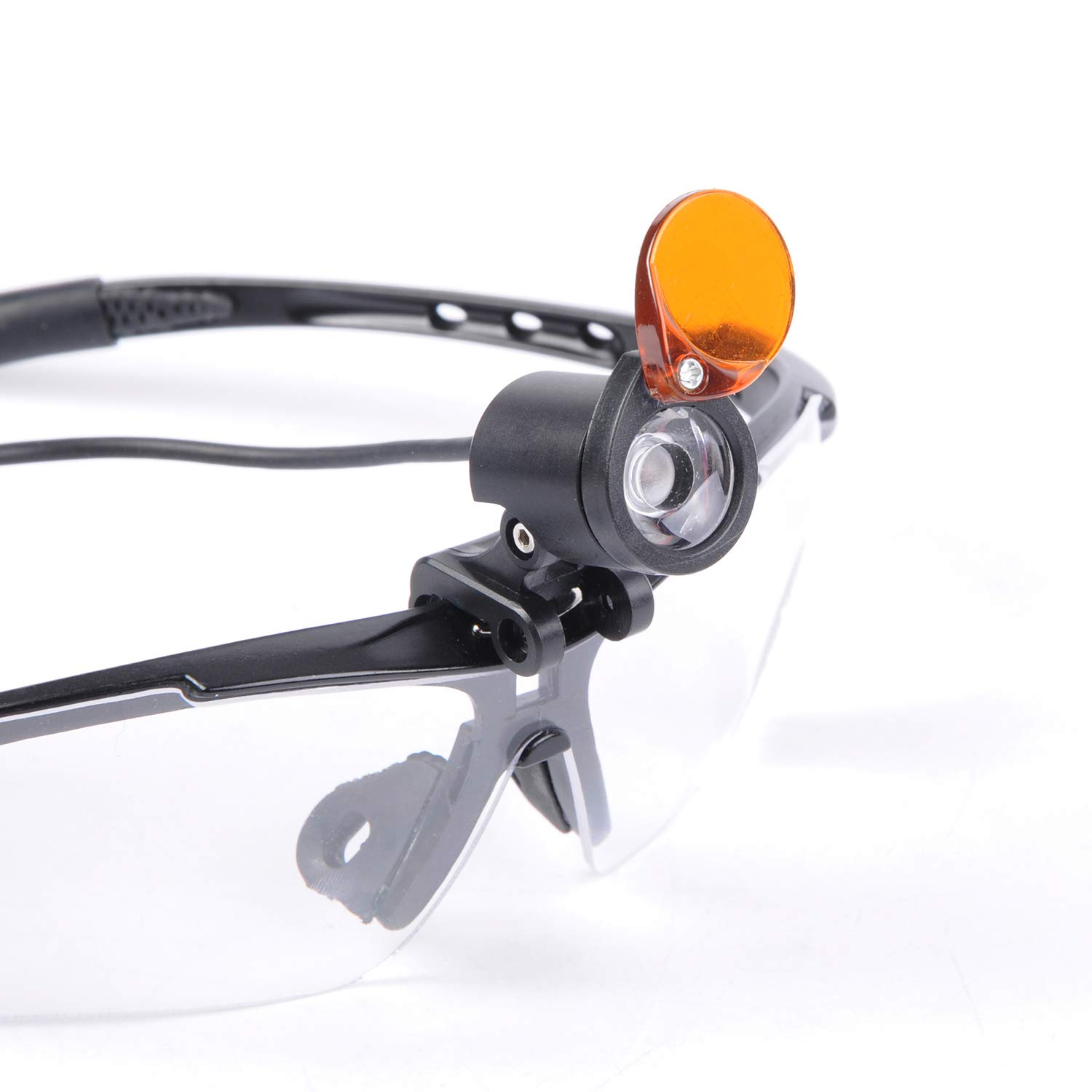 Wotefusi 1W LED Headlight with Yellow Filter Medical Surgical Head Lamp for Dental Stomatology by Wotefusi (Image #3)