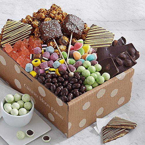 Shari's Berries – Chocolate & Sweets Gift Box – 1 Count – Gourmet Baked Good Gifts