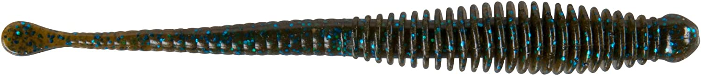 Berkley Power Bait Rib Snake 5,5/in green Pumpkin Blue Fleck