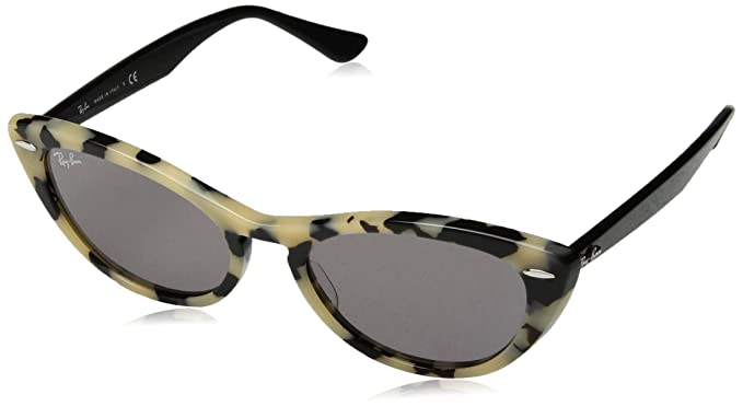 da615cb147 Image Unavailable. Image not available for. Color  Ray-Ban Women s 0rb4314n  Non-Polarized Iridium Cateye Sunglasses ...