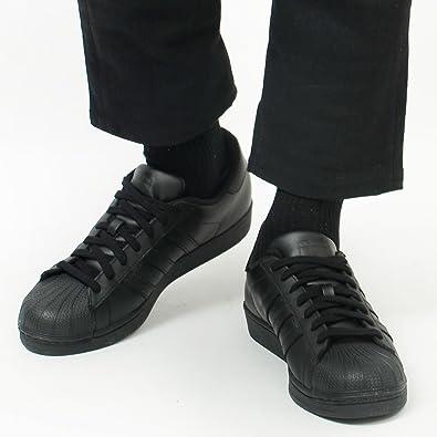 d23ac237b636b8 adidas ORIGINALS アディダス オリジナルス スニーカー スーパースター SUPERSTAR 黒 靴 af5666