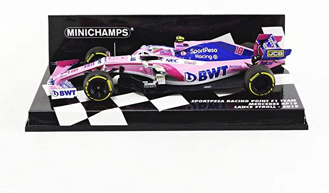 Paul S Model Art Gmbh Minichamps 417190018 Sportpesa Racing Point F1 Team Mercedes Rp19 Lance Stroll 2019 Scale 1 43 Collectible Miniature Spielzeug