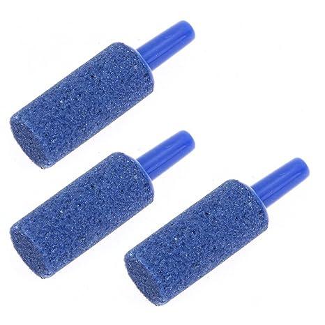 Crazo 3pcs Difusor Piedra de Burbujas Forma Cilindro para Pecera ...