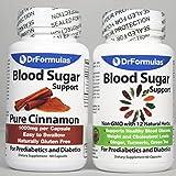 Cheap DrFormulas Blood Sugar Support | Diabetes Health Pack Supplements for Kids & Adults Glucose, Insulin & Cholesterol Control with Cinnamon Cinsulin, Turmeric, Vitamins Vital Nutrients