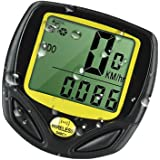 Bike Computer, TERSELY Original Wireless Bicycle Speedometer, Bike Odometer Cycling Multi Function- Premium Product Package, Gifts for Bikers/Men/Women/Teens