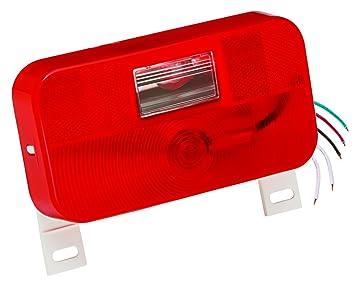 bargman tail light wiring diagram bargman image amazon com bargman 34 92 004 92 series red surface mount tail on bargman tail light