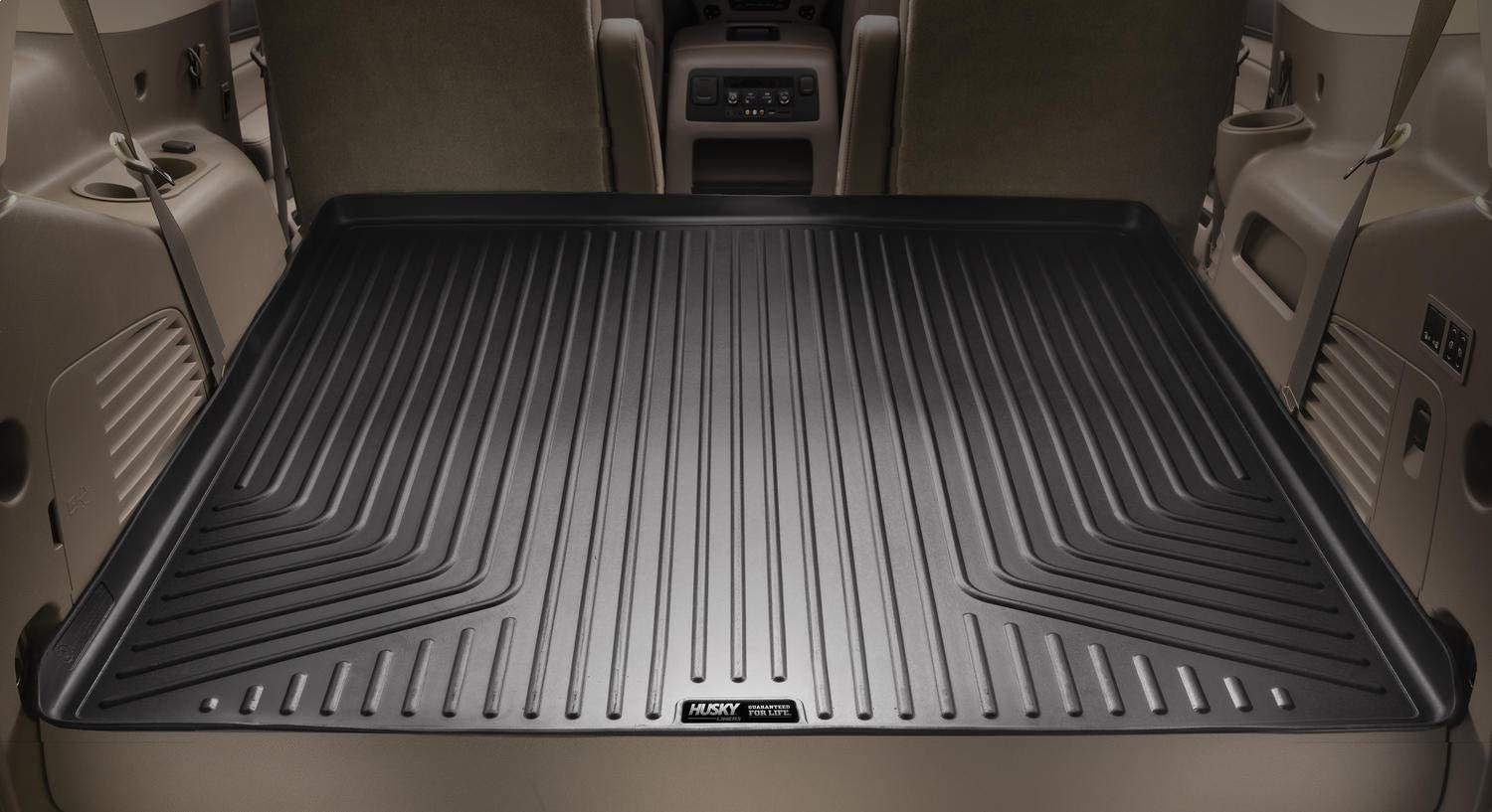 Husky Liners Fits 2015-19 Jeep Cherokee Weatherbeater Front /& 2nd Seat Floor Mats