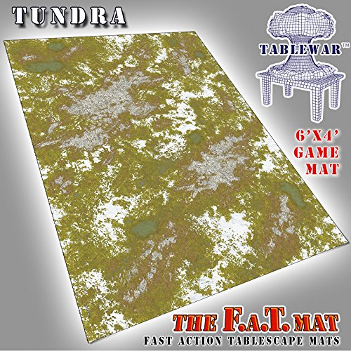 6x4' 'Tundra' F.A.T. Mat Gaming Mat by F.A.T. Mats
