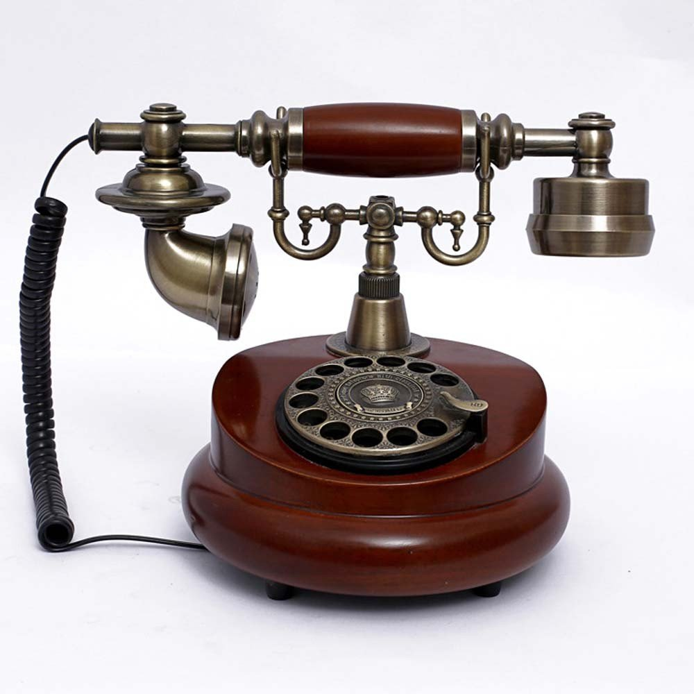 yancui @ Europea antiguo Tocadiscos dial-up Telephone ...