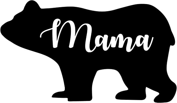 Amazon Com Celycasy Papa Bear Mama Bear And Bear Cubs Bear Family Vinyl Car Decal Home Kitchen