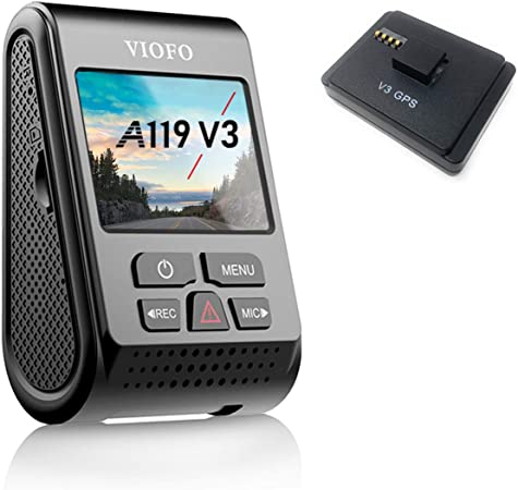 VIOFO A119 V3 2560 x 1600P Dash Camera with GPS Logger 2019 Edition