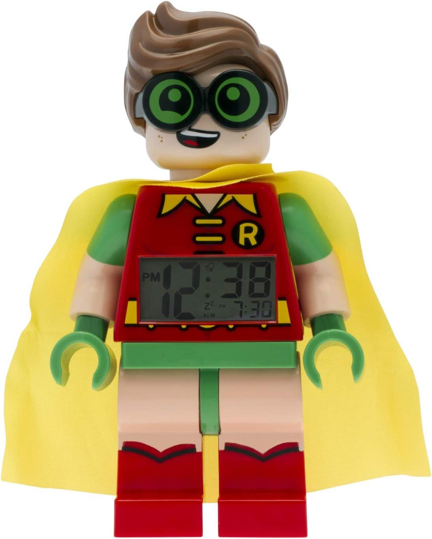 Despertador infantil con figurita de Robin de: LA LEGO BATMAN PELÍCULA 9009358