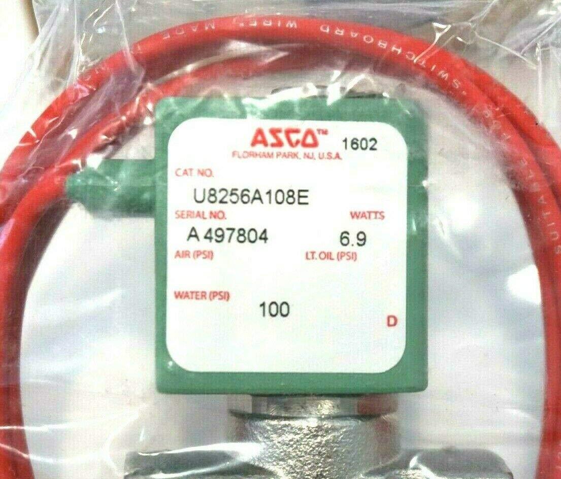 ASCO Power Technologies U8256A108E 1//4 N//C 150# WATER 120V