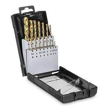 Titanium Beschichtet Werkzeug Satz HSS-Bohrersatz 1,5mm-10mm Metallbohr 99-tlg