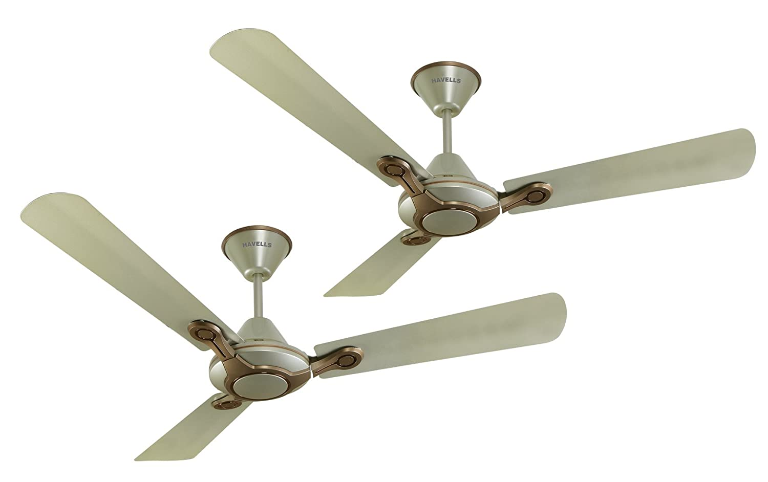 Havells Leganza 3B 1200mm Ceiling Fan Bronze Gold Pack of 2