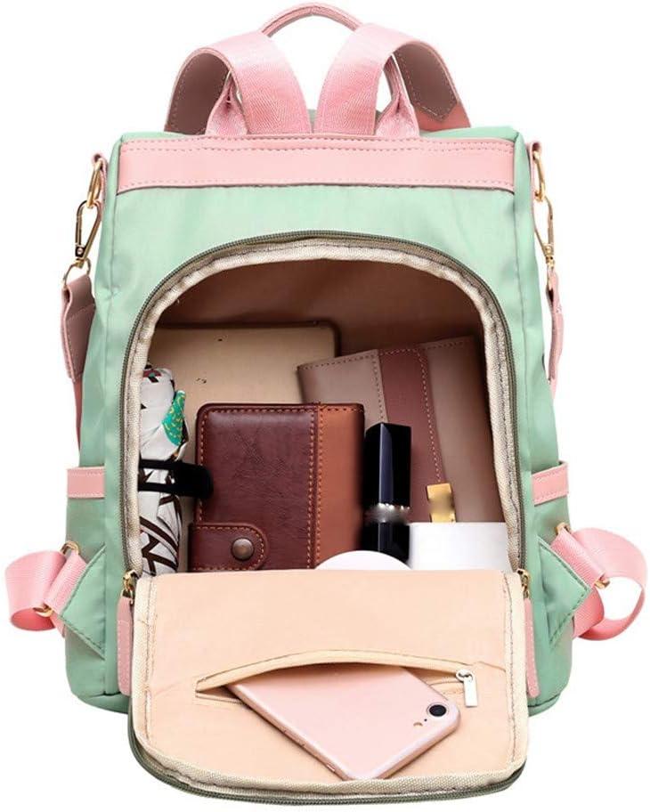 2020 Women Backpack Ladies Rucksack Solid Color PU School Bags