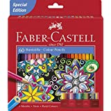 Faber-Castell Classic Colour Pencils set of 60 with Metallic, Neon and Pastel Colours