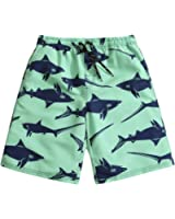 """SULANG Men's Slim-Fit Fashion Board Shorts - 21"""" Outseam, Ultra Quick Dry, Lightweight, No Mesh Lining"""