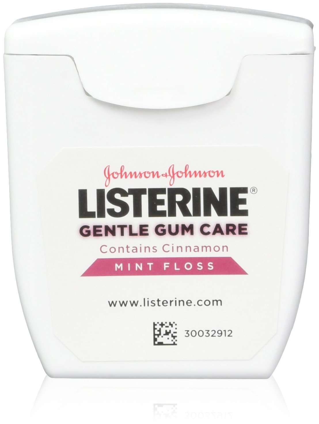 Listerine Gentle Gum Mint Floss, With Cinnamon 50 Yards (Pack of 5)