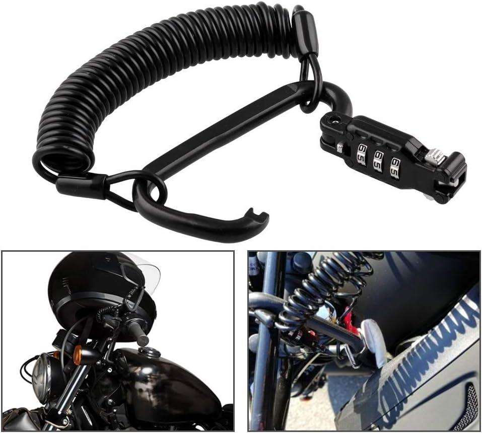 WOVELOT Universal Motorcycle Lock Scooter Handlebar Lock Brake Throttle Grip Anti Theft Protection Security Locks Green
