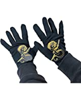 Rubies Child's Black Ninja Gloves