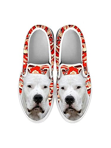 Womens Slip ONS-Cute Dog Print Slip ONS Shoes for Women (Choose Your Pet