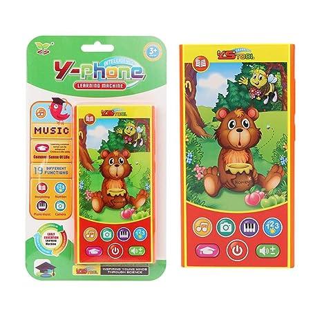 Giocattoli Del Educazione Chen0 Bambino Super Prima Smartphone ARq5jc34LS
