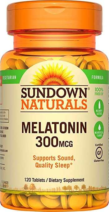 Sundown Naturals Melatonin 300...