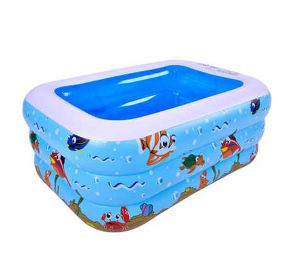 Inflatable Bathtub Portable Adult Tub Large Bathtub Universal Folding Bathtub Swimming Pool (Size : 125cm)