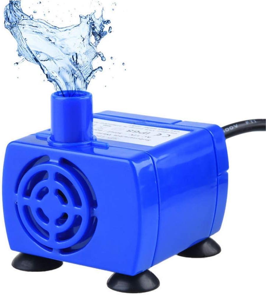 MM Reemplazo de la bomba de la fuente de agua del animal doméstico del voltaje de corriente alterna de 12V sumergible para los alimentadores automáticos del gato de alimentación del gato del perro que