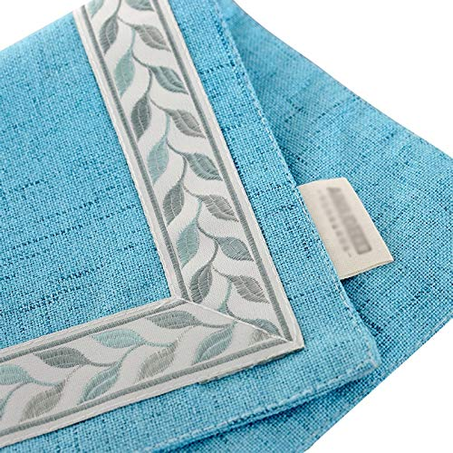 SLIANG Mantel hogar Azul Transpirable, portátil, Sala de conferencias, conferencias, conferencias, Sala de conferencias, Cuadrada, Mantel Simple (Tamaño : 32  160cm) 97d2c0