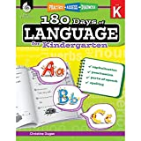 180 Days of Language for Kindergarten – Build Grammar Skills and Boost Reading Comprehension Skills with this Kindergarten Workbook (180 Days of Practice)