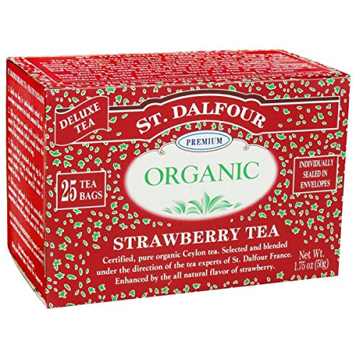 - St. Dalfour Organic Tea - Strawberry - 25 ct