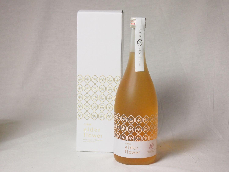 気品み満ち溢れた梅酒 花梅酒~elder flower~ 12度 720ml×10本 B077Z1JC26