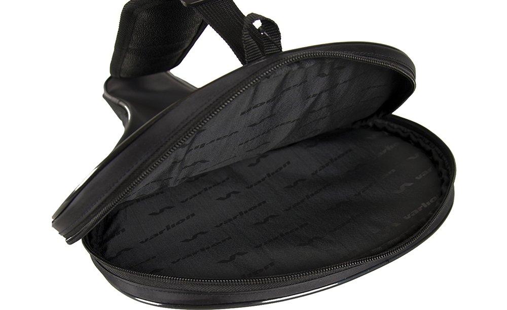 Varlion Funda LW - Funda de palas de pádel, Unisex Adulto, palas de forma redonda, Negro/Plata: Amazon.es: Deportes y aire libre