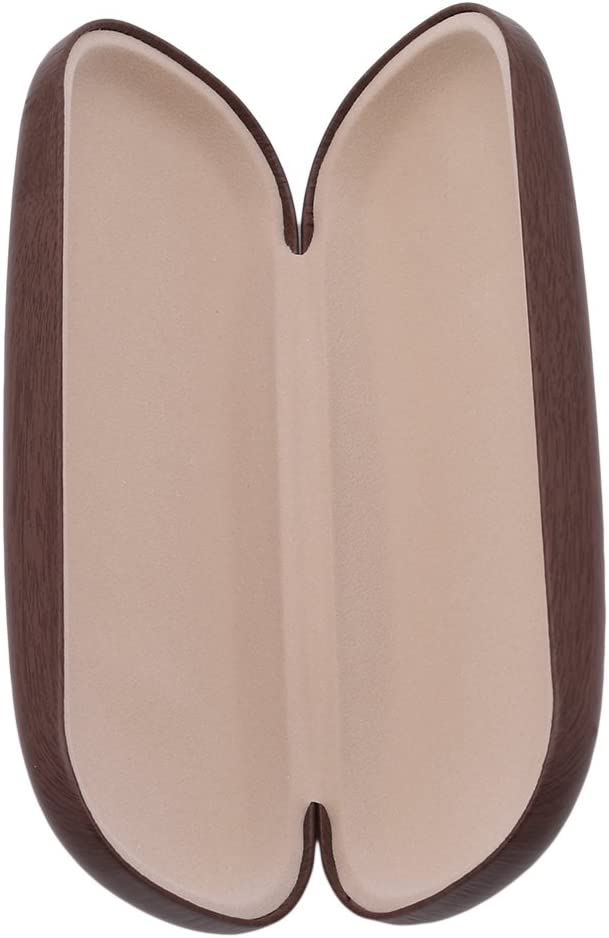 Jixing retro in legno viaggio portatile antiurto protezione caduta della scatola occhiali da sole custodia in 3/diversi colori 16 6 4cm Brown