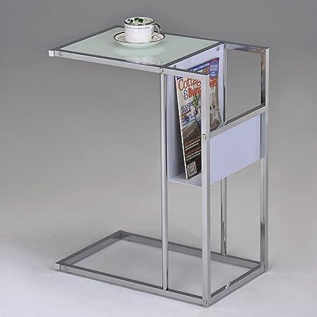 K B Furniture SR-1289-WH Side Table
