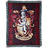 The Northwest Company Warner Bros Harry Potter Gryffindor's Crest Tapestry Throw, 48 by 60-Inch
