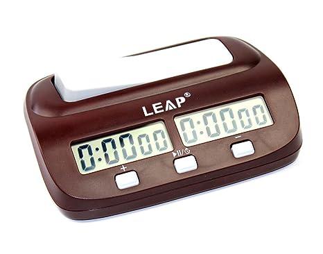 KALESI Reloj Digital de Ajedrez, Tiene Una Caja de Regalo de Marca, es el