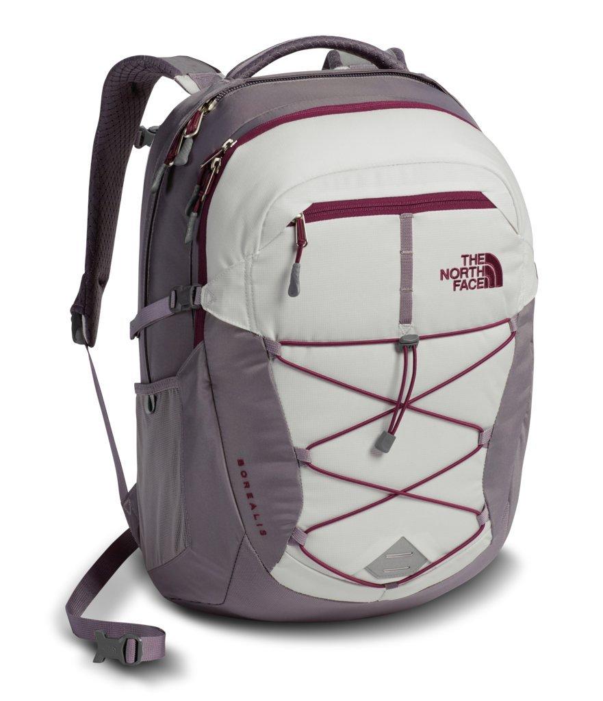 The North Face Women's Borealis Backpack - Vaporous Grey Light Heather & Rabbit Grey - OS