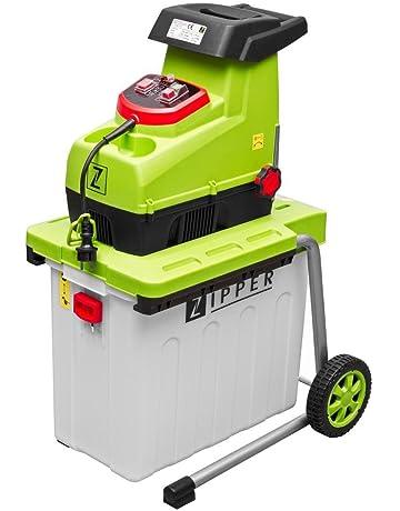 Trituradora ZIPPER ZI-GHAS2800 compostadora silenciosa astilladora jardin 2800W
