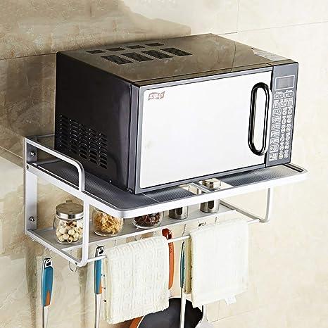 ACZZ Estante de cocina \ Horno de microondas Estante de ...