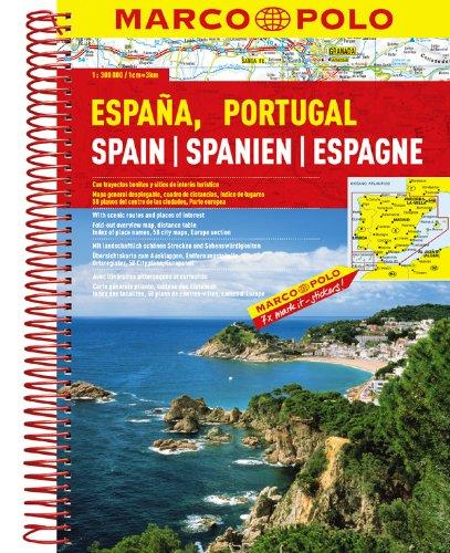 MARCO POLO Reiseatlas Spanien, Portugal 1:300.000 (MARCO POLO Reiseatlanten) (Englisch) Taschenbuch – 21. September 2015 Polo Marco MAIRDUMONT 3829737092 Europa