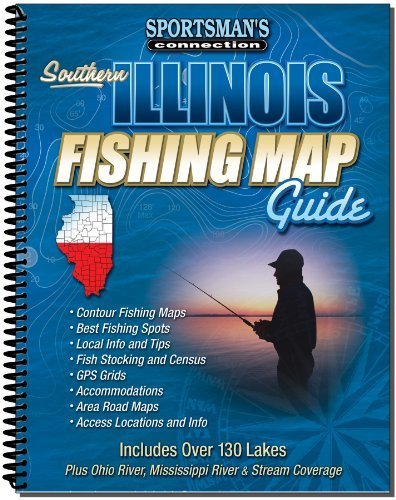 Southern Illinois Fishing Map Guide (Sportsman