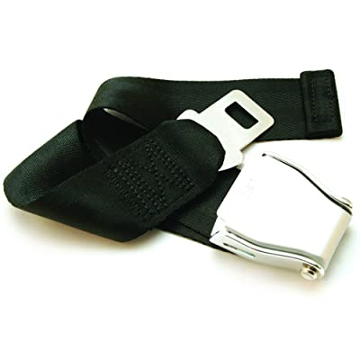 "Adjustable 7-24"" Airplane Seatbelt Extender - FITS All Airlines (not Southwest) - Free Carrying Case - E4 Safety Certified (Not All Extenders are Certified, Choose The Safe Option): Automotive"