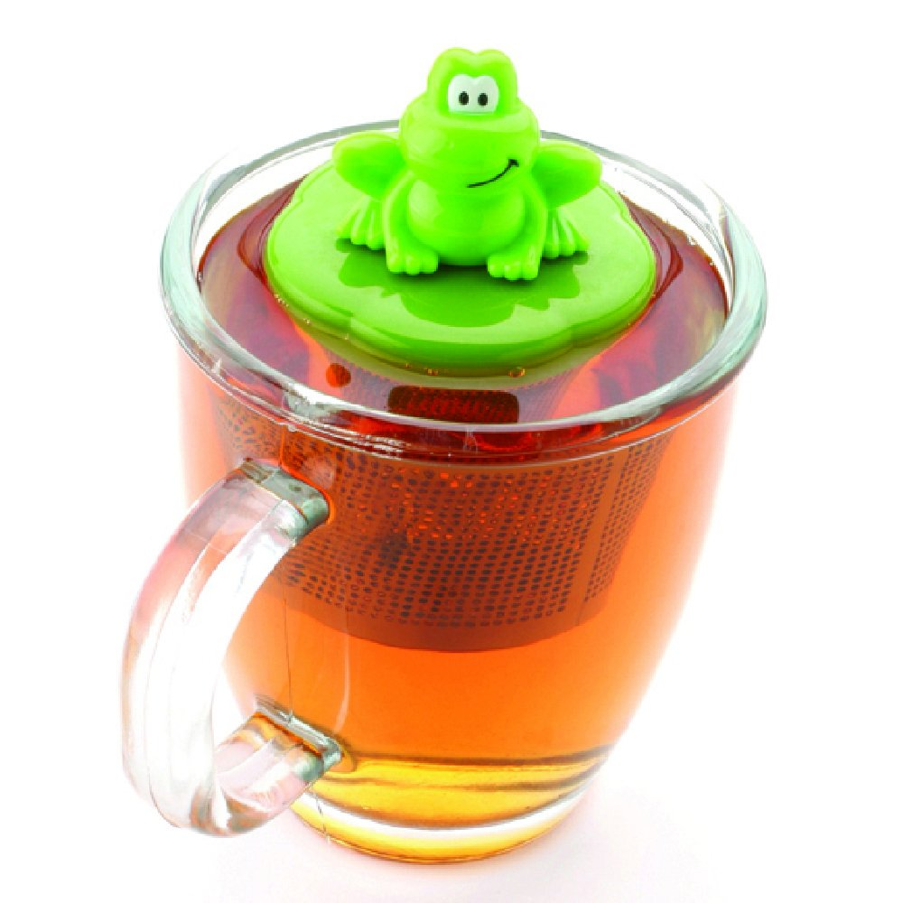 Joie 067742100337 Frog Infuser, Stainless Steel, Green MSC International 10033-HIC