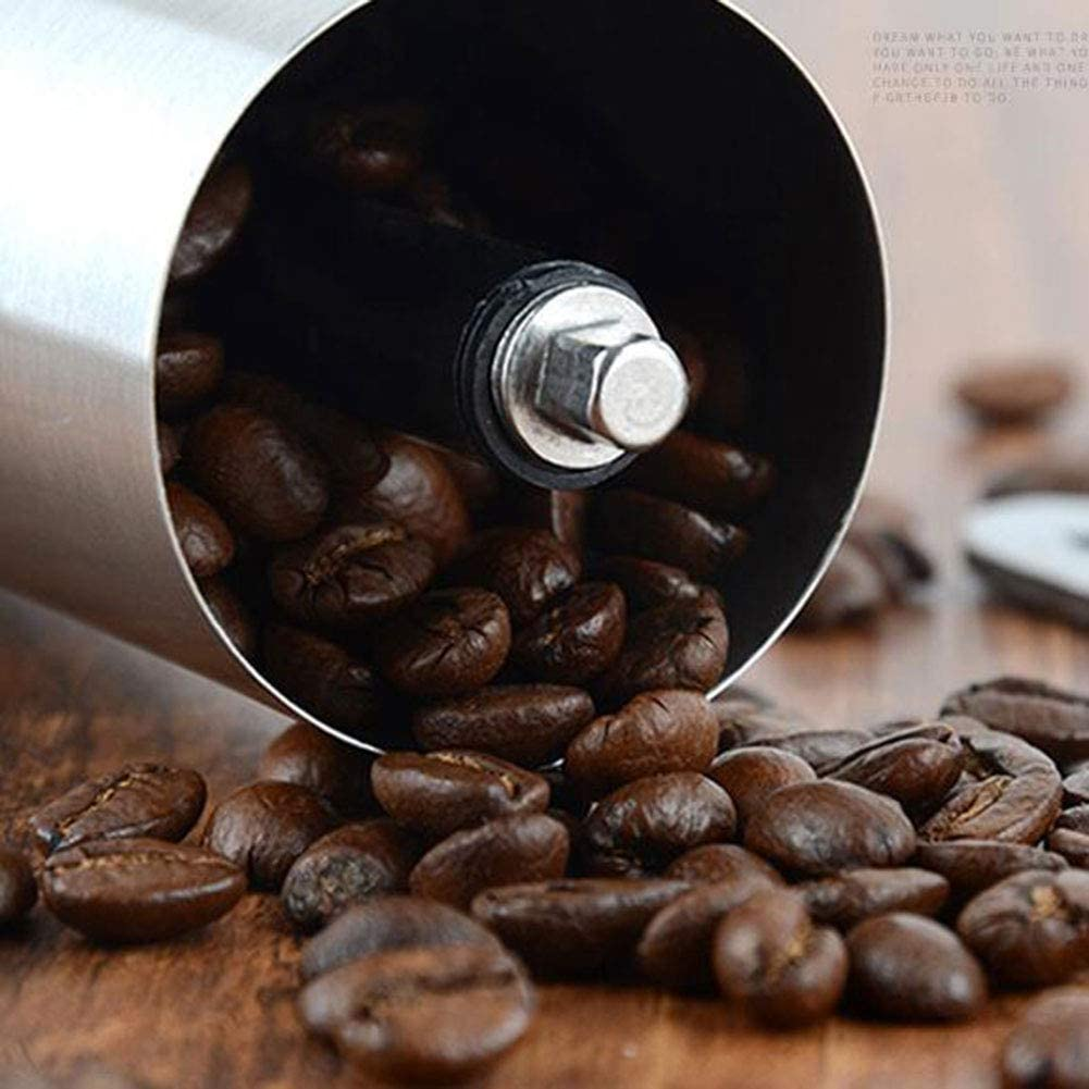 OUYAWEI Home Portable Stainless Steel Bean Grinder Home Hand Coffee Machine Manual Pepper Grinder Coffee Grinder 30g