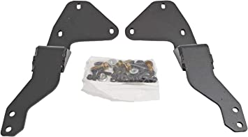 LE1460 Dee Zee LE1460 LE Style Push Bumper Bracket Kit Fits Sierra 1500